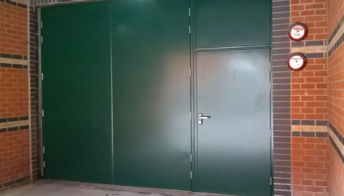 Fire Exit Steel Doors