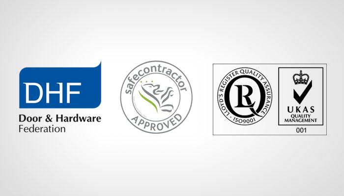door and hardware federation, safecontractor, ISO 9001