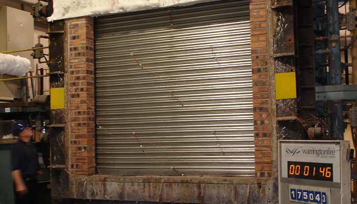 Fire Resistant Roller Shutters