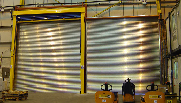 Safe Drive Roller Shutters