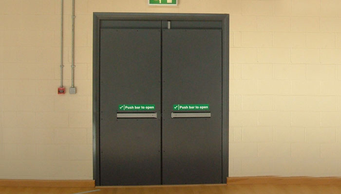 Sports Hall Steel Doors