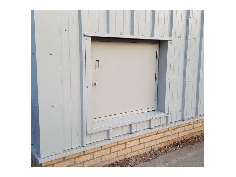 Marine grade steel door