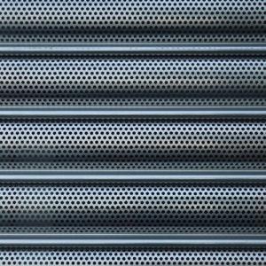 roller shutter close up
