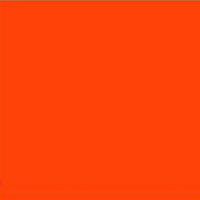 Industrial door colour swatch bright orange 032
