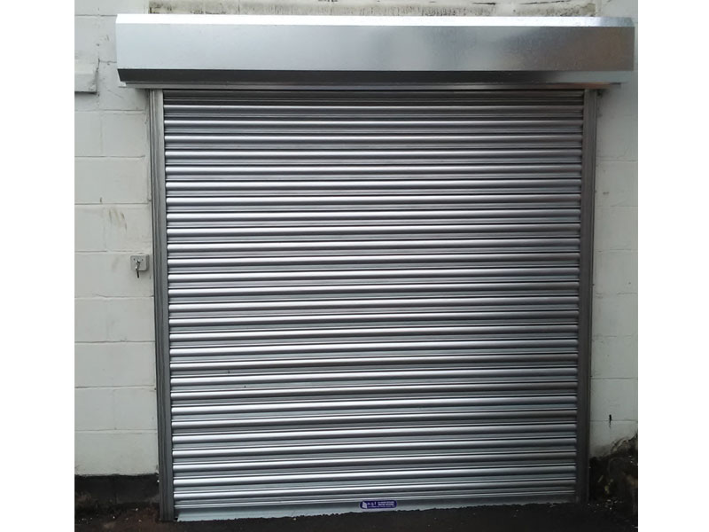 Kingstall project - commercial roller shutter