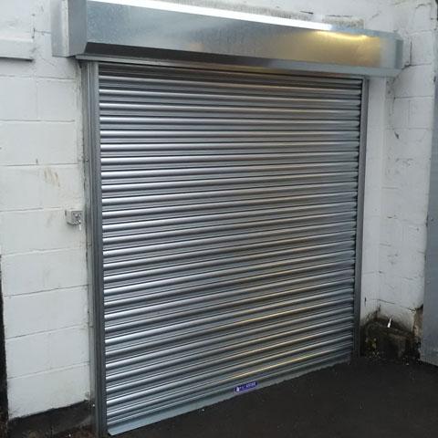 Kingstall industrial door project
