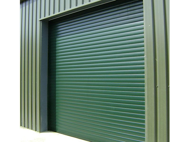 Insulated roller shutter