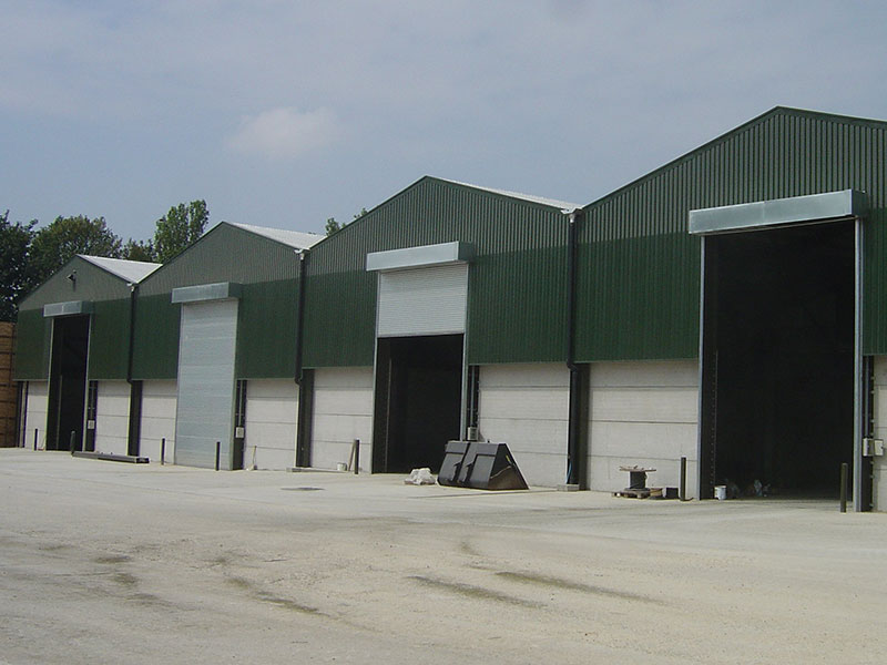 roller shutter ideal for farm and agricultural units