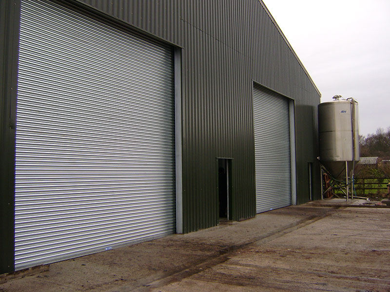 Heavy duty, pre-galvanised steel roller shutters