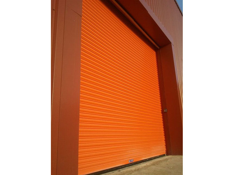 Roller shutters for warehouses, barns and garages