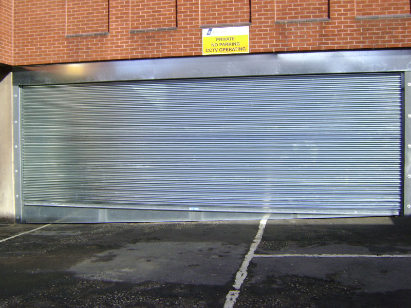 steel security roller shutter doors