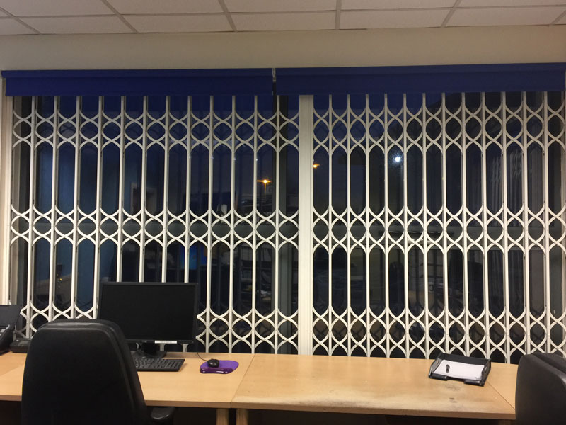 Business Security Grills