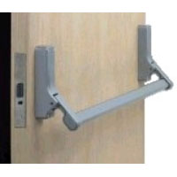 Briton 379E Push pad mortice night latch