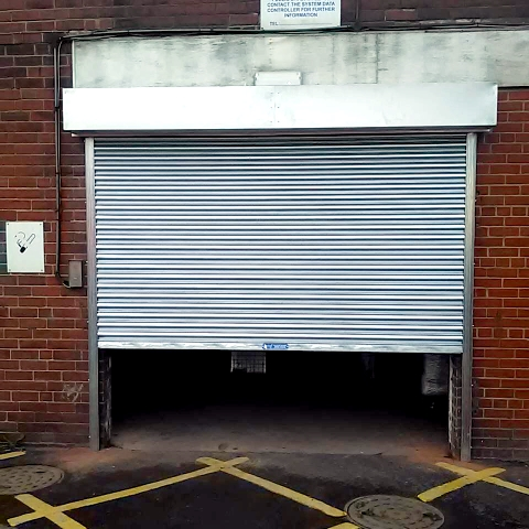 NGF installs security roller shutters for Burberry