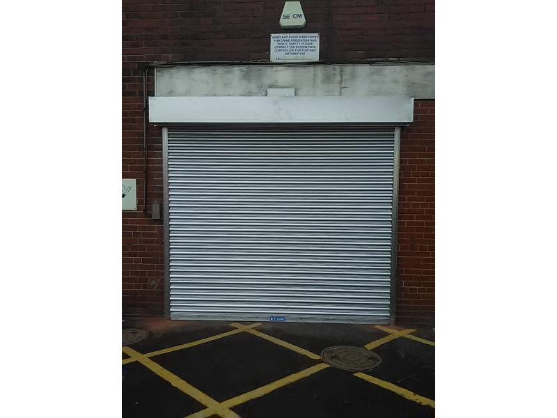 NGF's security roller shutters for Burberry