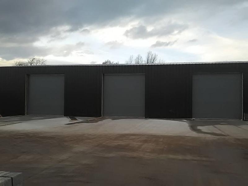 multiple sectional overhead doors