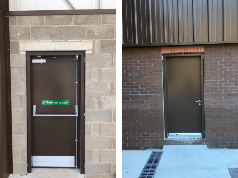 2 roller shutters collated